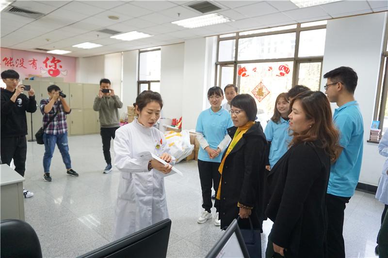 """中国地质大学""""海洋学院党员实践基地""""在血液中心揭牌"""