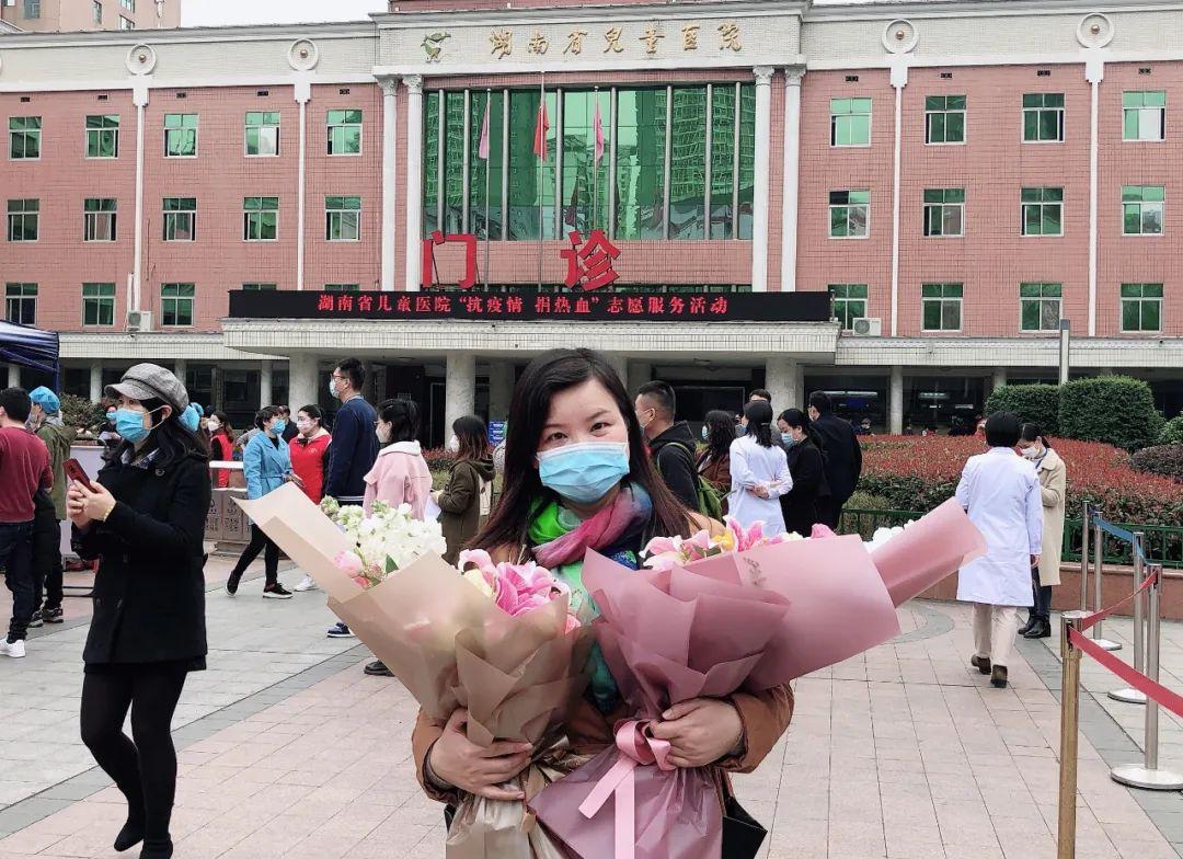 """长沙血液中心副主任胡敏被授予 """"湖南省抗击新冠肺炎疫情先进个人""""称号"""