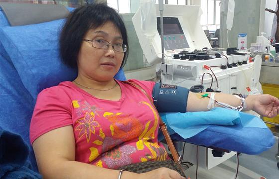 国庆黄金周 江西省血液中心接待献血者1500余人