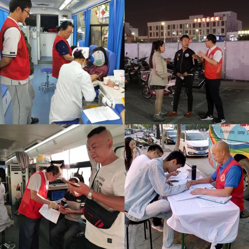 国庆黄金周期间 南京市民踊跃献血庆《献血法》颁布实施20周年
