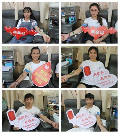 无偿献血进校园,创该校单日采血量历史新高