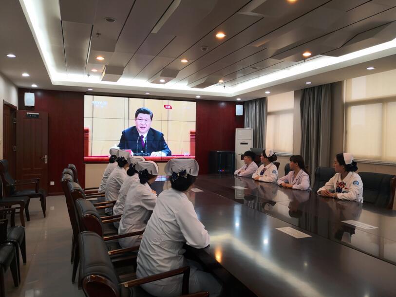 徐州市中心血站团总支开展纪念五四运动100周年主题系列活动