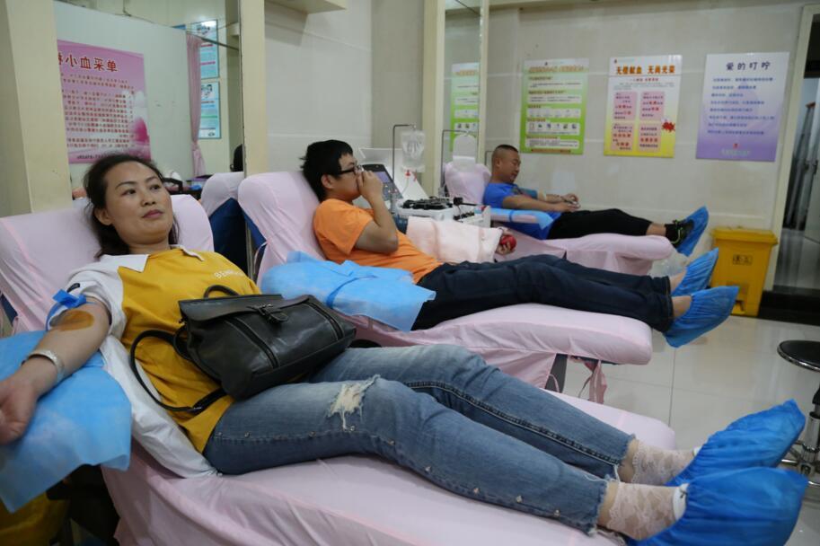 今年宜宾439名志愿者捐献单采血小板498个治疗单位