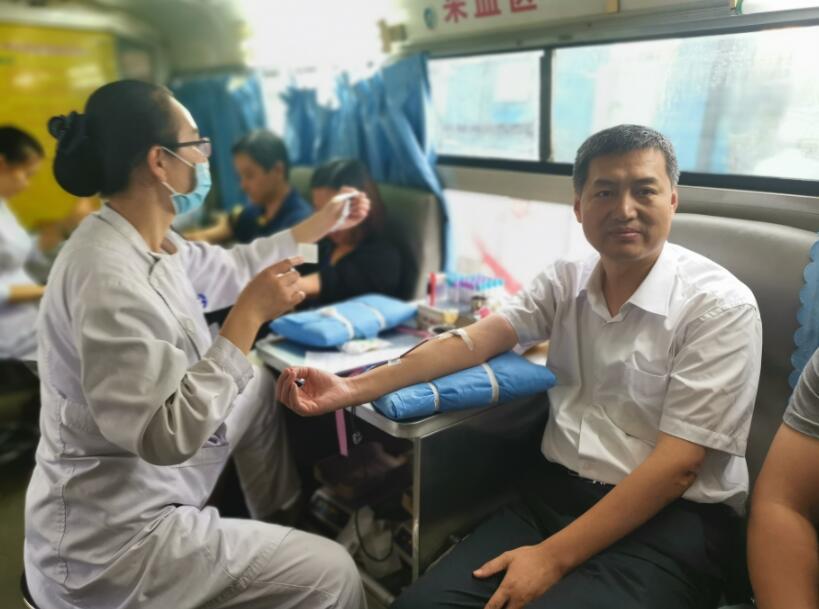 热血,在枣庄市立医院逆风奔流!