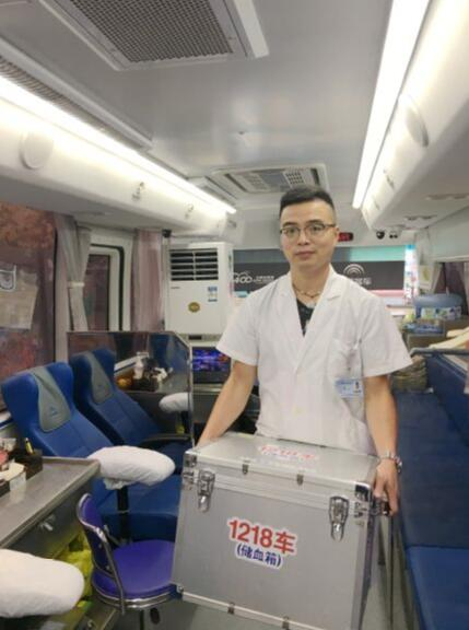 守护生命 甘于奉献 记福建省血液中心献血服务科—朱劲松