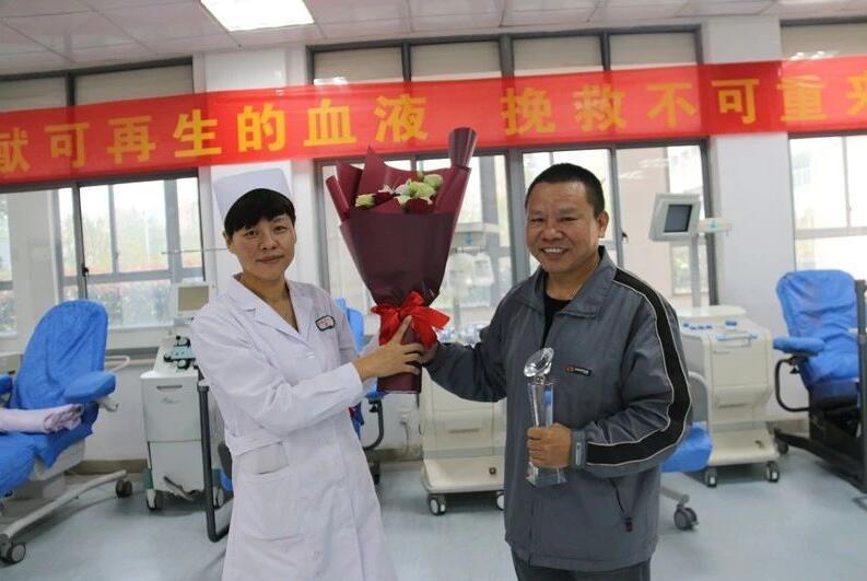 【热血礼赞祖国70华诞】江西省血液中心将服务做至心坎上