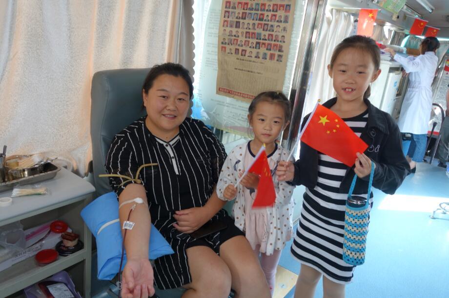 枣庄:528名市民十一长假献血近20万毫升