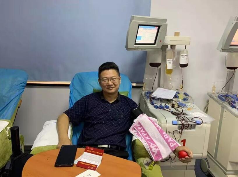 谈闻安的第101次献血 —无锡市中心血站