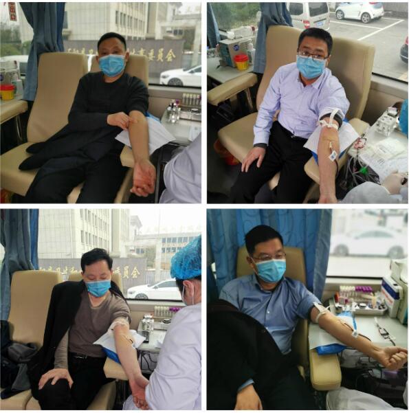 """河南驻马店正阳县无偿献血应急工作""""一把手""""冲在一线"""