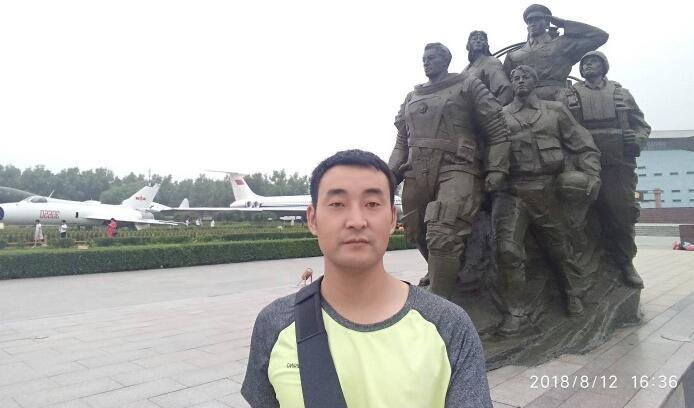 驻马店坚持无偿献血9年的无偿献血者——杨启超