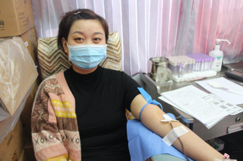 咸阳市中心血站:献血让青春美丽定格