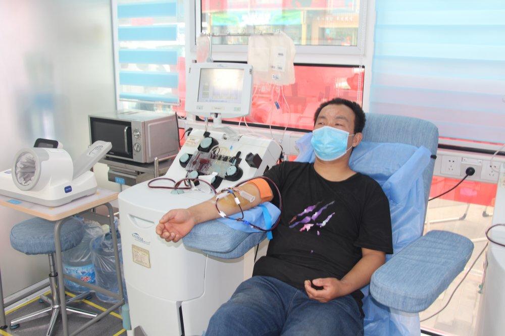 咸阳市中心血站丨姚刚:在奉献中体会到了快乐