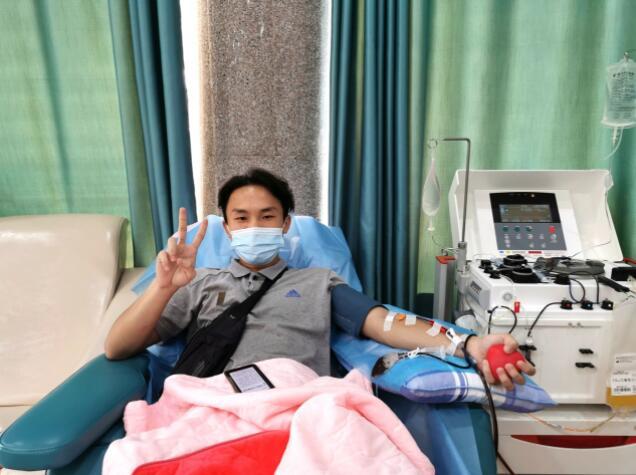 无偿献血:永州18岁小伙的特别生日礼物
