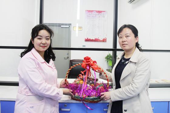 安康市中心血站开展5.12国际护士节慰问活动