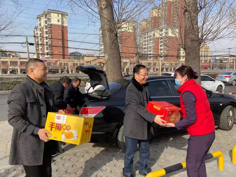 河南省红十字血液中心2021年开展慰问活动