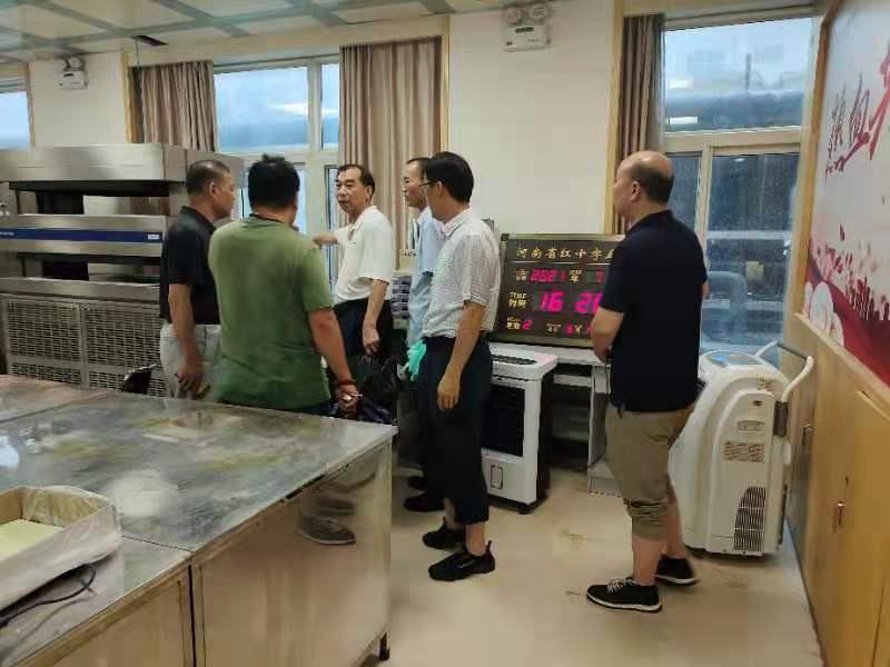 河南省红十字血液中心全力做好防汛应急工作