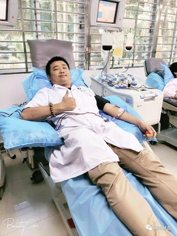 """海南血液人的故事丨秦浩义:采供血岗位上的献血""""大佬"""""""